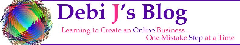 Old Header for Debi Js Blog